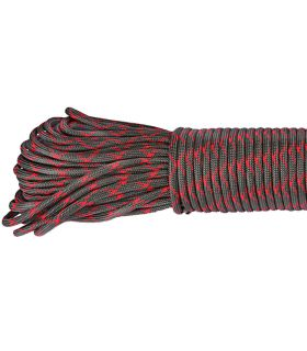 Paracord Red Camo 0165 - 100 mètres Type III 550