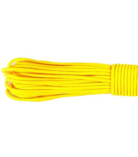Paracord Yellow 019 - 100 mètres Type III 550