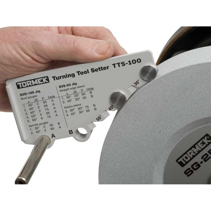 Tormek TTS100 Positionneur pour outils de tournage -