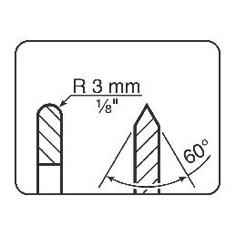 Tormek LA122 Disques standard  de remplacement -