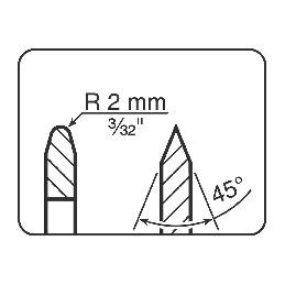 Tormek LA124 Disques Fins de rechange ( Optionnels )