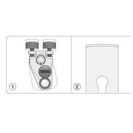 Tormek SE77 Dispositif pour tranchant droits réglable -