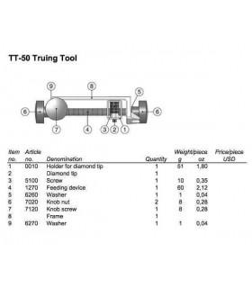 Tormek  TT-50 Redresse meule -