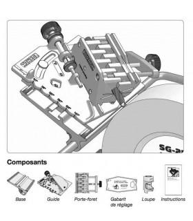 Tormek DBS-22 Dispositif pour des mèches ( 3 à 22 mm) -