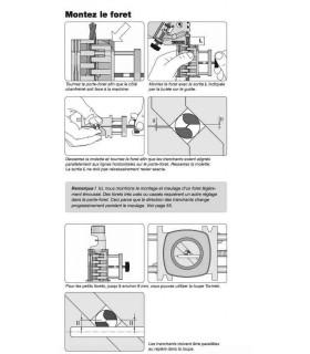 Tormek DBS-22 Dispositif d'affûtage de forets (Mèches) de 3 à 22 mm)