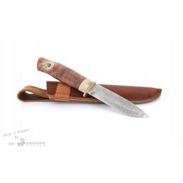 Couteau fixe nordique Karesuando 3580 Damas 164 couches -