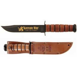 Ka-bar 9105 Us Army Korean War Commémorative Couteau à lame fixe -