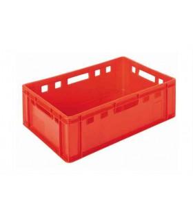 Palette de Bacs à viande rouge 50 pcs Euronorm 40x60 PBE2 -