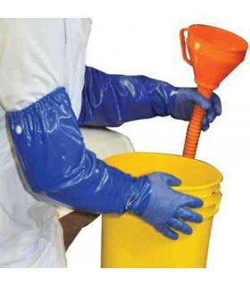 Gants Nsk-26 Chemical Resistant Nitrile Gloves Size 10 -
