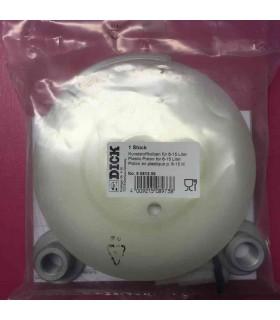 Piston en plastique 9081208 pour poussoir Dick 6-9-12-15l -
