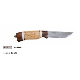 Couteau de chasse fixe nordique Helle 85 Trofé -