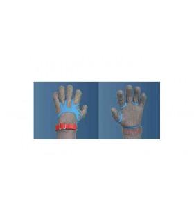 Fixe gant dit araignée bleu pour gant cote de mailles 10PCS -
