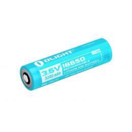 Pack 2 x Batterie Accu Lampe Led Olight OL S2R-BATT 18650 3200 mAh S2R, S30RII, R20 -