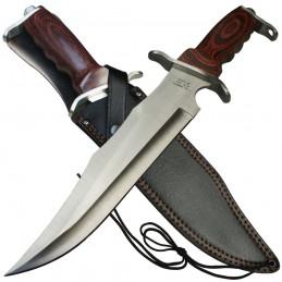 Grand couteau de chasse Bowie -
