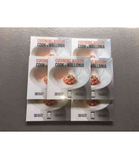 Cuisinons Wallon 30 Recettes 6 Chefs étoilés -