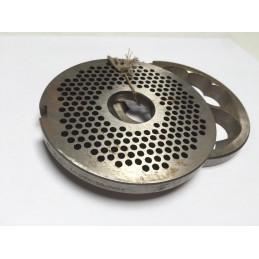 Plaque hachoir LW B ( 3,5 mm ) + avant coupeur Occasion -