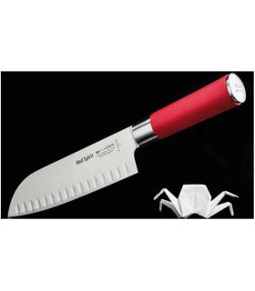 Dick 8174218K Red Spirit Couteau de chef Santoku 18 cm -
