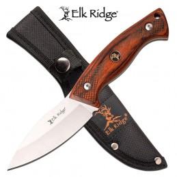 Couteau de chasse fixe Elk Ridge 22-BR ( 22BR ) -