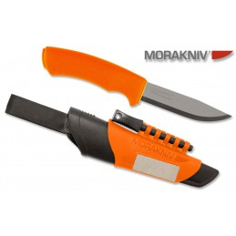 Couteau fixe Mora Bushcraft 12051 Survival Orange inox -