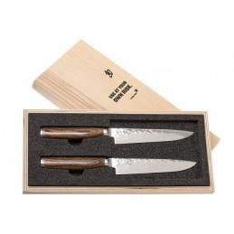 Pack 2 Couteaux Japonais Kai TDMS-400 ( TDMS400 ) Shun Premier Tim Malzer -