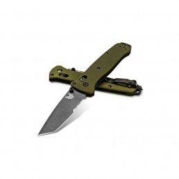 Couteau pliant Benchmade 537SGY-1 Bailout Tanto Aluminium -
