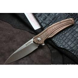 Couteau pliant Crkt K406BXP Onion Ripple Bronze -