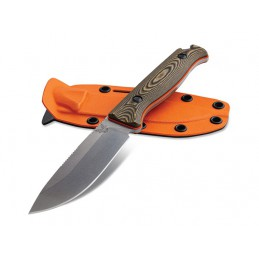 Couteau fixe Benchmade 15002-1 ( 15002 1 ) New Saddle Mountain Skinner -