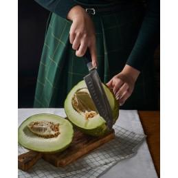 Samura Série Damascus Couteau de chef Santoku Damas SD-0094 ( SD00-94 ) Lame de 18 cm -