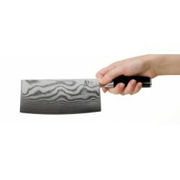 """Couteau Japonais de cuisine """"chinois"""" Kai DM0712 Shun Classic Lame de 18 cm -"""