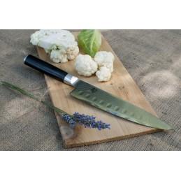 Couteau Japonais de chef alvéolé Kai DM-0719 ( DM0719 ) Shun Classic lame de 20 cm -