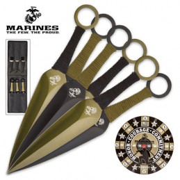 United Cutlery UC-3164 ( UC3164 ) USMC Throwing Set -