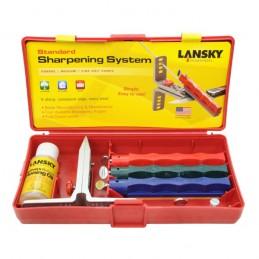Lansky LKC03 Kit d'affûtage pour aiguisage couteaux Grains 120, 280, 600 -