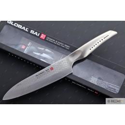 Global Sai01 Couteau de chef 19 cm -