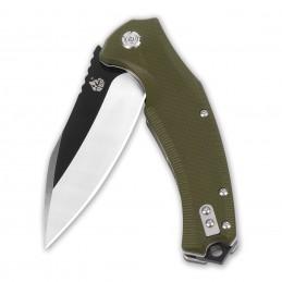 Couteau pliant QSP QS-121 ( QS121 ) Snipe vert -