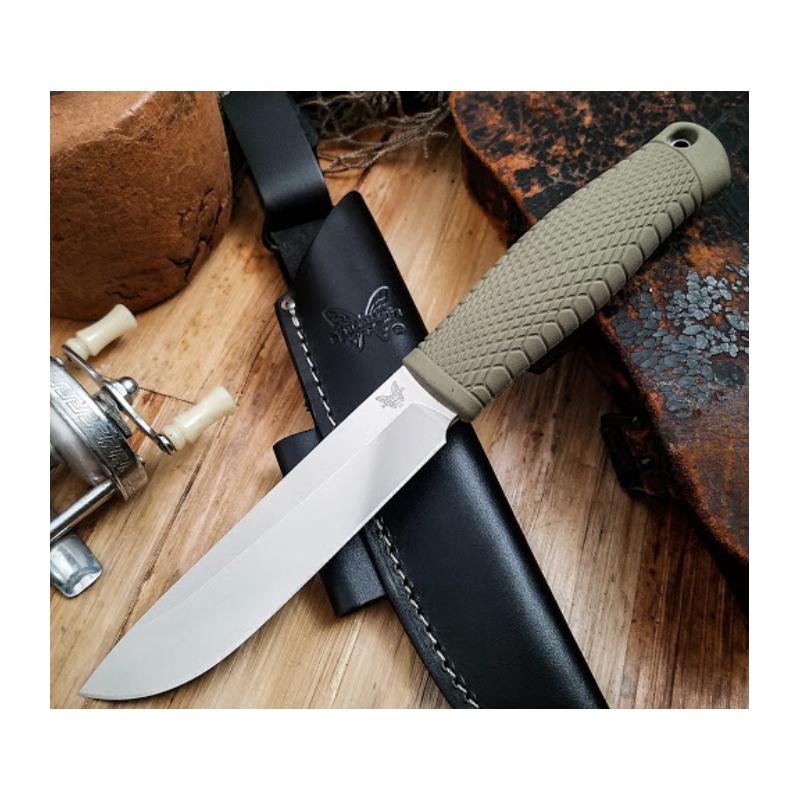 Benchmade Leuku 202 Couteau fixe CPM-3V -