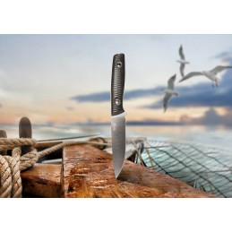 Trc Knifes This is Freedom N° 00367 Acier M390 Canvas Micarta -