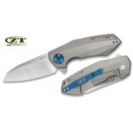 Zero Tolerance 0456 Titanium Acier CPM20CV