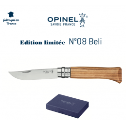Superbe Opinel N°08 Collection 2020 Belli -