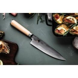 Couteau Japonais Chef Kai DM-0706W ( DM0706W ) Shun Classic White lame damas de 20 cm -