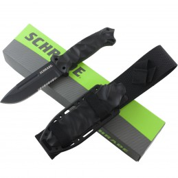 Couteau fixe Schrade Schf40 Drop Point Fixed Blade Full tang -