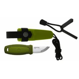 Couteau Mora Eldris Neck 12833 Knife Green -