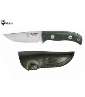 Couteau de chasse Muela 11GM Husky Micarta Green -