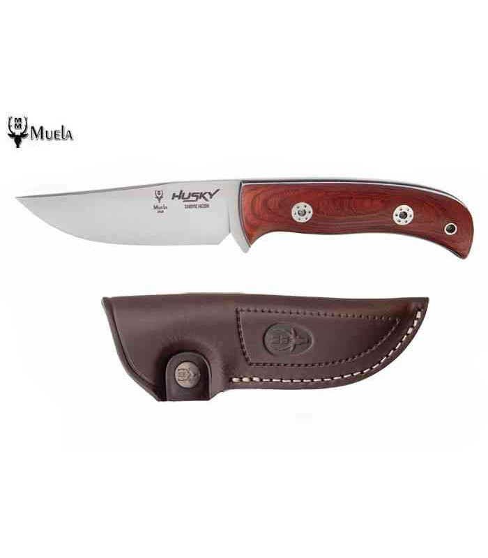 Couteau de chasse Muela 11RM Husky Micarta Rosewood -