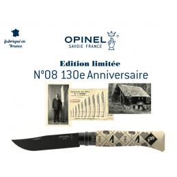 Magnifique Couteau Opinel N°08 Edition limitée 130 ANS Anniversaire Collection 2020 -