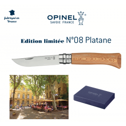 Superbe Opinel N°08 Collection 2020 Platane -