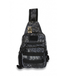 Barbaric 34886BPH Sac bandoulière Black Python Camo 3L -