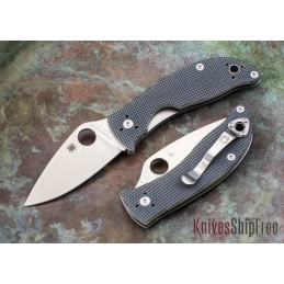 Spyderco C222GPGY Alcyone G-10 PE CTS BD1 -
