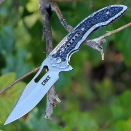 Crkt 5462 Fossil Couteau pliant Ikoma Design -