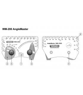 Tormek WM200 Positionneur d'angle -
