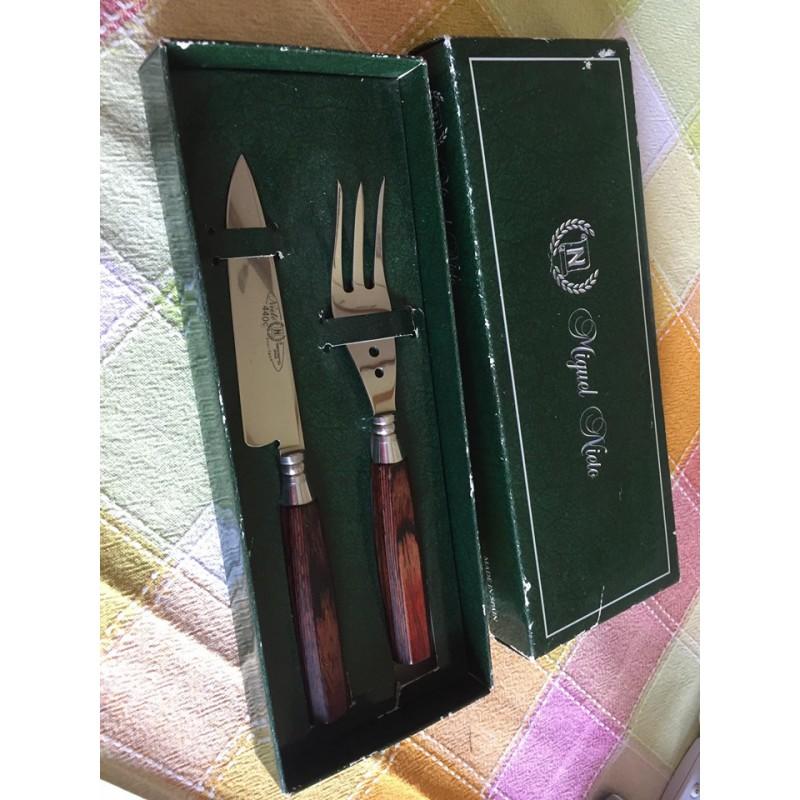 Coffret Nieto Couteau et fourchette -